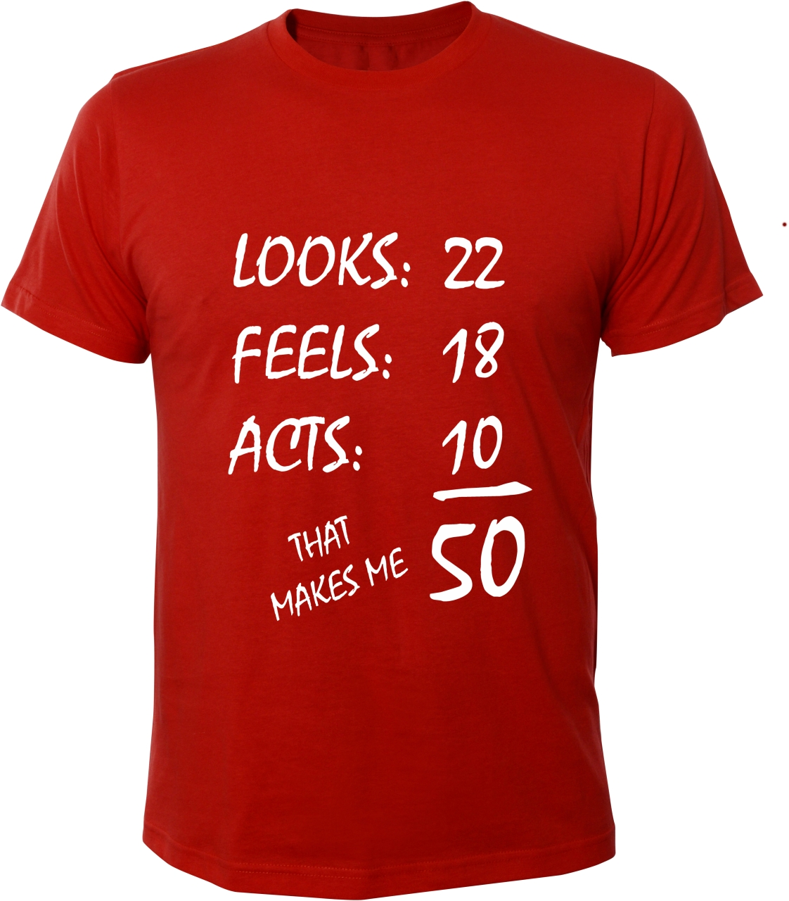 m nner herren t shirt 50 jahre looks feels acts years. Black Bedroom Furniture Sets. Home Design Ideas